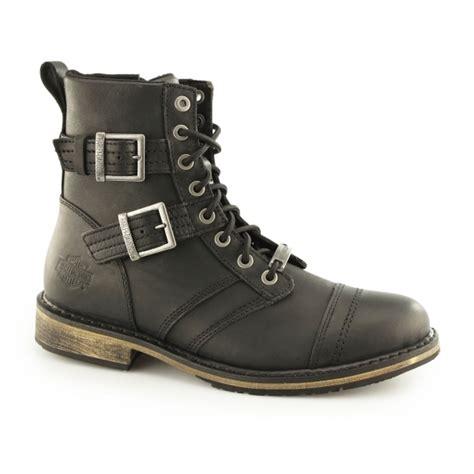 mens lace up biker boots harley davidson drexel mens leather biker boots black
