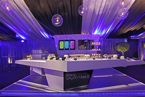 interior design events nyc samsung launched its galaxy note ii in los angeles with an