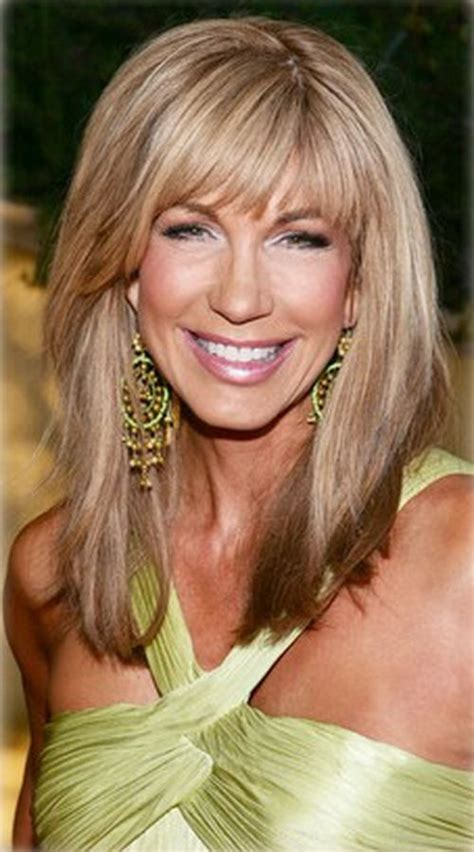 bangs or no bangs in older women 284 best images about beauty on pinterest medium length