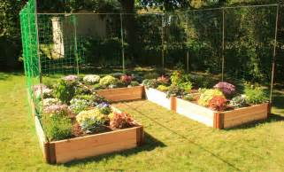 Vertical Garden Beds Raised Bed Gardens With Vertical Gardening Systems Frame