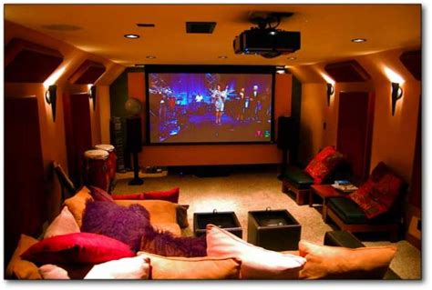 home theater decoration home decor ideas mini family home theater room design