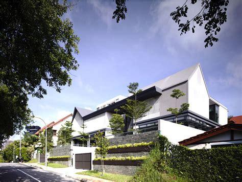 Semi Detached House in Singapore   InteriorZine