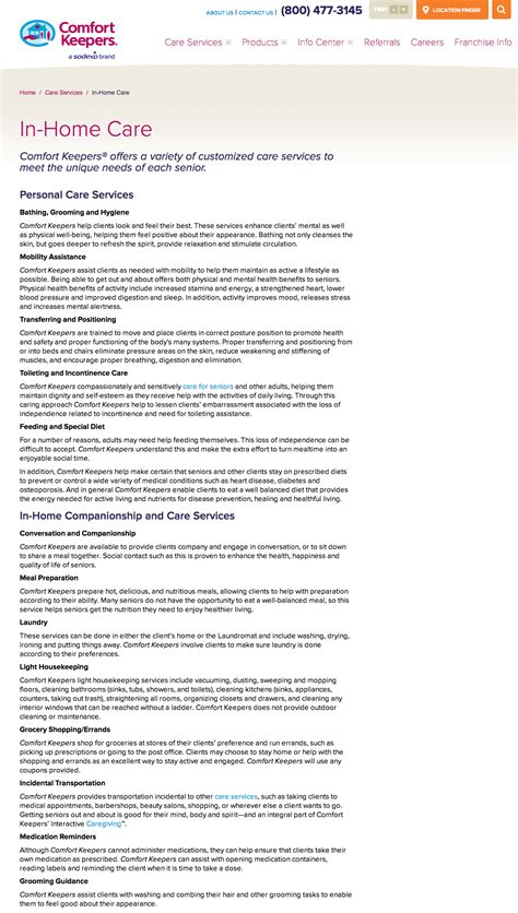 Comfort Keepers Franchise Review by Top 16 Complaints And Reviews About Comfort Keepers