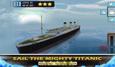 titanic boat game titanic escape crash parking