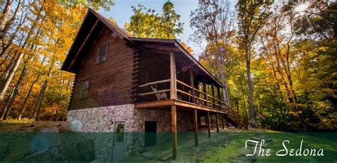 Hocking Log Cabins by Cabins By The Caves Hocking S Cave Cabin