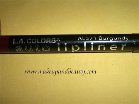 La La Colors Endless Auto Lip Liner 1 la colors auto lip liner burgundy review swatch indian makeup