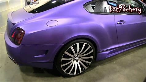 matte purple bentley matte purple bentley gt coupe on 22 quot forgiatos forgiato