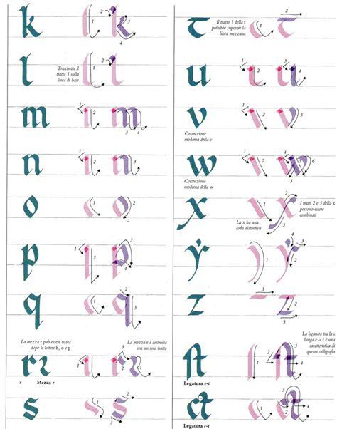 lettere gotiche antiche calligrafie asdps armis et leo