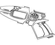 slugterra gun coloring page slugterra coloring pages color online free printable