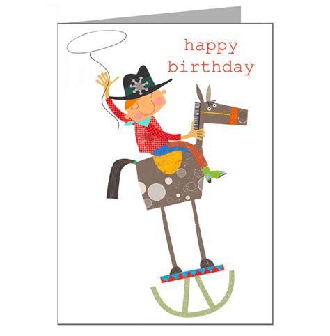 Western Birthday Cards Cowboy Birthday Card By Kali Stileman Publishing