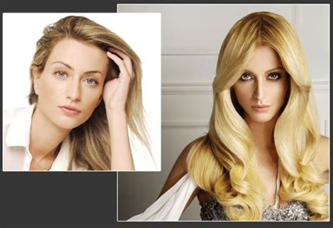 hairstyles with extensions before and after hair extensions before and after best medium hairstyle