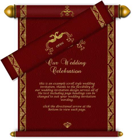 Asian Wedding Card Templates Png by Phenomenal Kingdom Wedding Card Design Scrool Shape