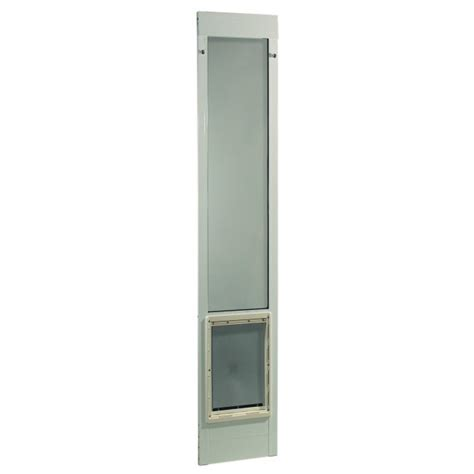 Ideal Fast Fit Patio Pet Door by Ideal Pet Fast Fit Pet Patio Door Large White