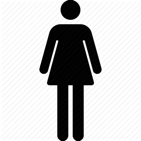 female bathroom symbol female woman bathroom symbol