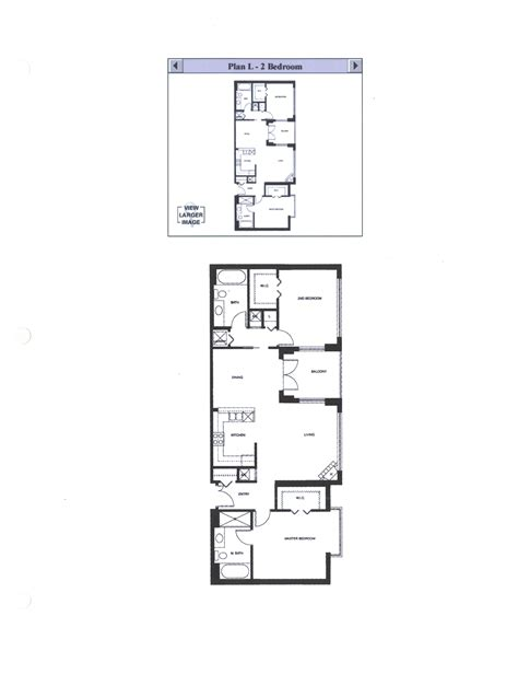 Discover The Floor Plan For Discovery Floor Plan L 2 Bedroom