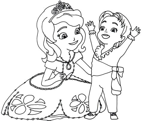 sofia coloring pages free coloring pages of sofia the