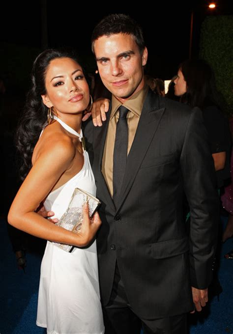 colin egglesfield y su esposa 2014 colin egglesfield photos photos inside the cw at t s
