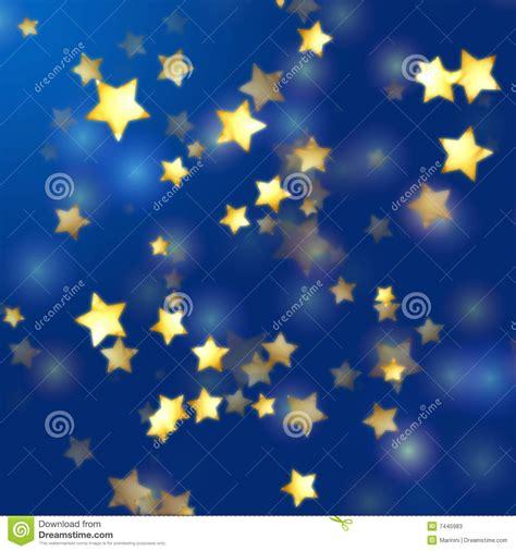 imagenes abstractas en azul estrellas de oro en azul stock de ilustraci 243 n ilustraci 243 n