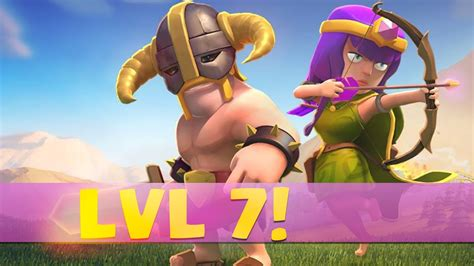 clash of clans barbarian level 7 quot level 7 barbarians archers quot clash of clans new