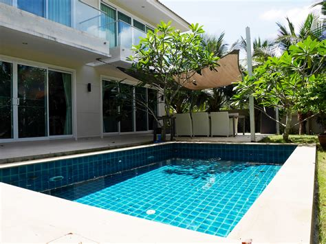 3 bedroom house with pool for rent spacious 3 bedroom pool villa and large garden for rent in