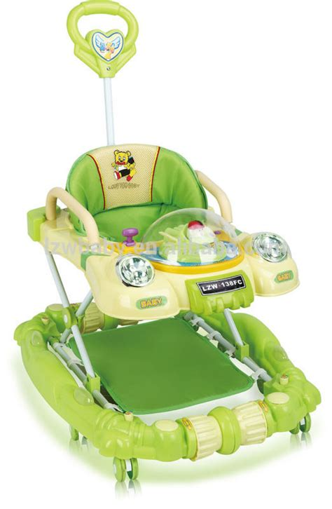 baby walker with swivel seat car shaped baby walker with rocker model