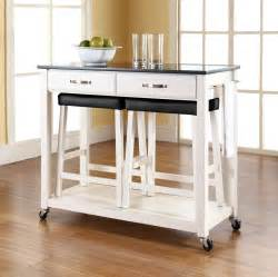 movable kitchen islands with stools practical movable island ikea designs for your small