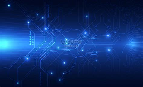 background information blue information technology background image picture