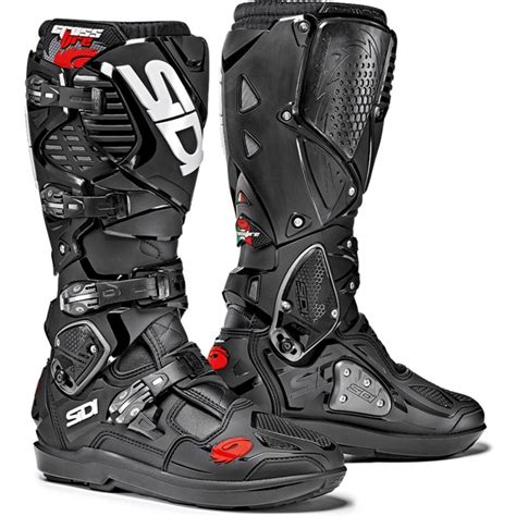 sidi motocross boots review sidi crossfire 3 srs black boots 183 motocard