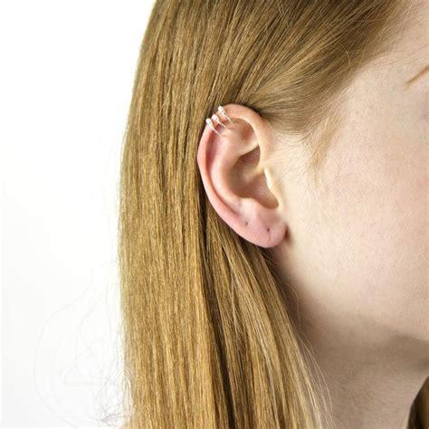 Ear Cuff sterling silver ear cuffs by gaamaa notonthehighstreet