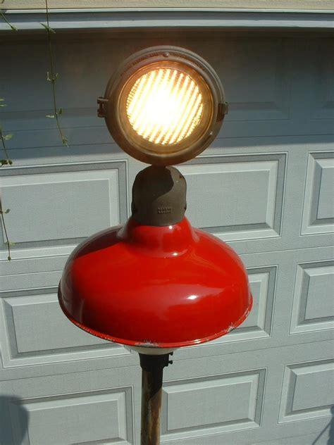 Vintage Gas Station Island Lights Revere Gas Station Island Light 20 Quot Globe Porcelain Industrial Sign L Ebay
