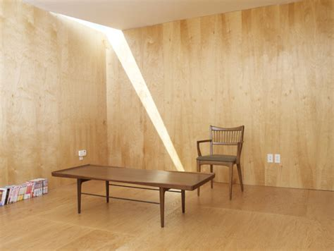 Plywood Interior Walls by Add Some Warmth 12 Plywood Interiors Design Milk