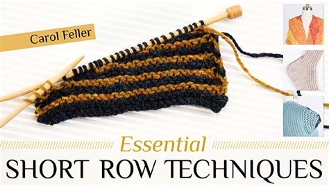 how to turn in knitting row essential row techniques