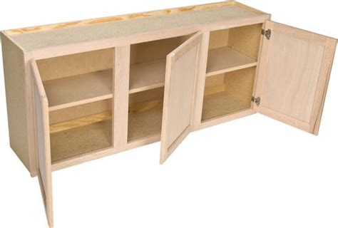 36x30x12 in wall cabinet in unfinished oak w3630ohd the image gallery unfinished cupboards