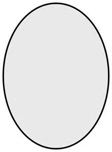 Oval Shape Template by Free Coloring Pages Of Oval