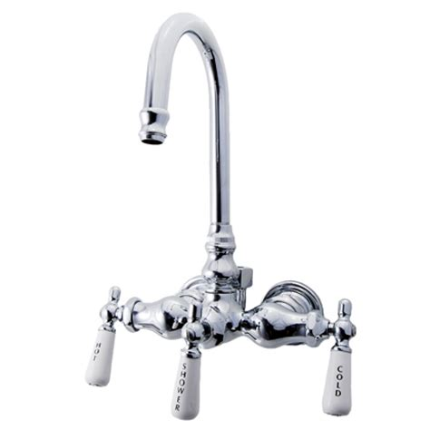 Clawfoot Tub Faucet With Diverter by Diverter Clawfoot Tub Faucet 400 Theloostore