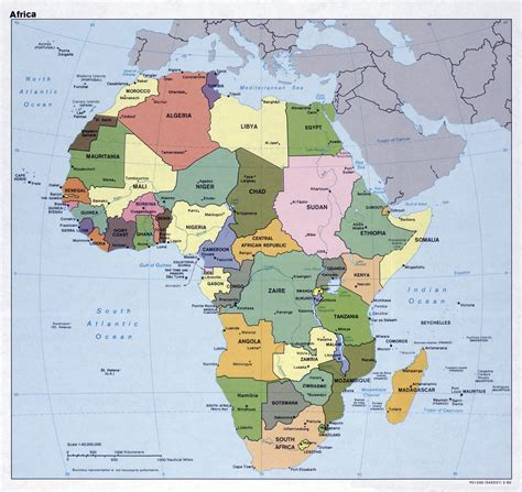 political map of africa free world maps large africa map bing images