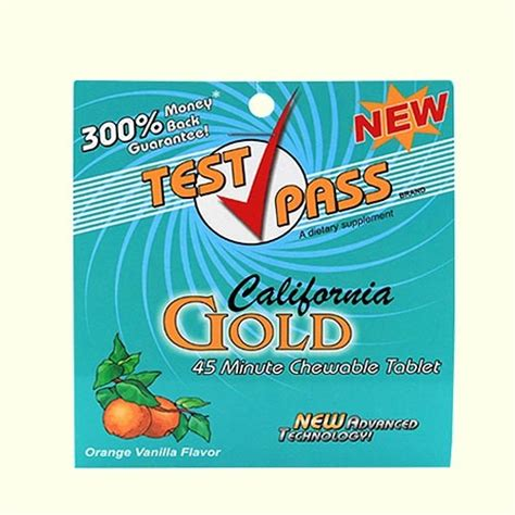 Pass Test Detox Kit by Test Pass Chewable Detox Tablet Best 4 Test