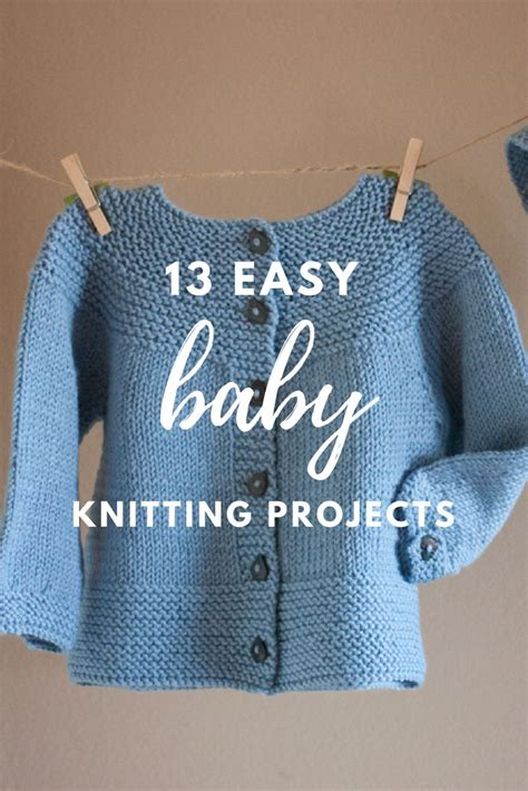 easy knitting projects for babies simple baby knitting patterns crochet and knit