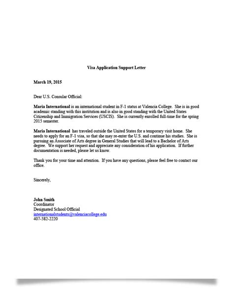 Support Letter For A Student sle request letter for student visa extension cover