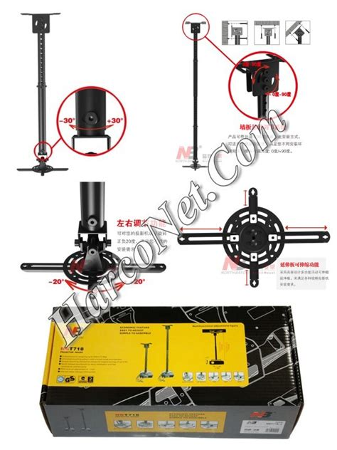 Proyektor Gantung bracket projector gantung 187 jual bracket universal standar