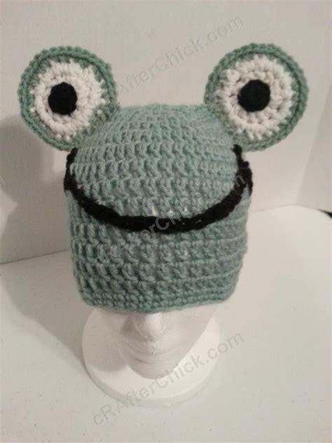 crochet pattern cute hat cute and easy frog beanie hat crochet pattern