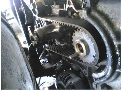 How To Replace The Mazda 323 Cam Belt And Water Pump