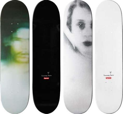 supreme skateboards decks harmony korine for supreme skateboards