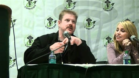 tara strong and john dimaggio emerald city comic con 2012 voice actors panel pt 1 kevin