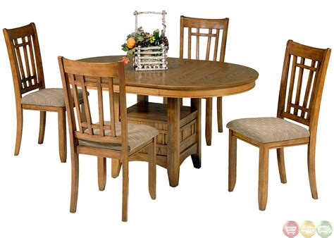 Casual Dining Table Set Santa Rosa Mission Style Casual Dining Table Set