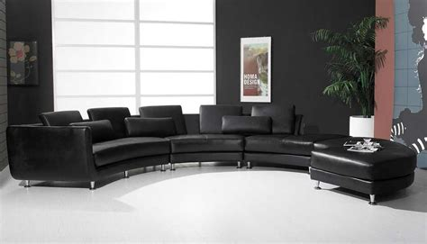 round leather sectional sofa roller espresso leather sectional round sofa sectionals