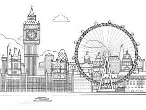 colouring sheets london free image