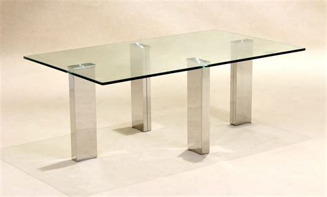 Stainless Steel Coffee Table Legs Clear Glass Coffee Table With Stainless Steel Legs