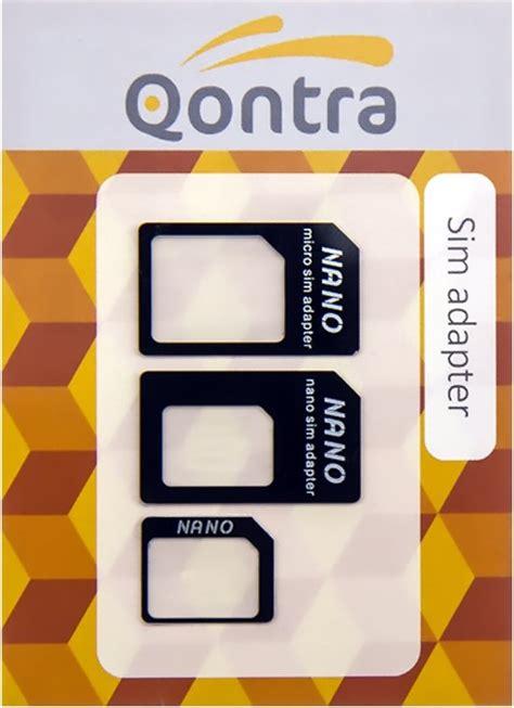 Micro Sim Adapter T0310 bol micro sim en nano simkaart adapter set