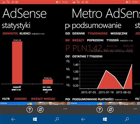 adsense zarobki obsługa konta google adsense na windows phone antyapps